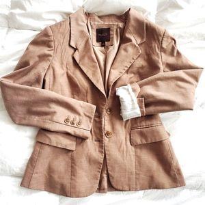 Perfect tan blazer